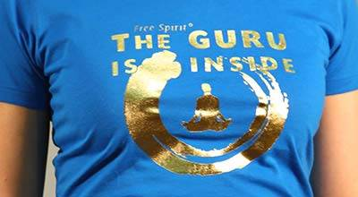 FreeSpirit® Shop The Guru is inside T-Shirt