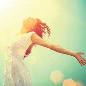 FreeSpirit® Feedbacks - glückliche Frau