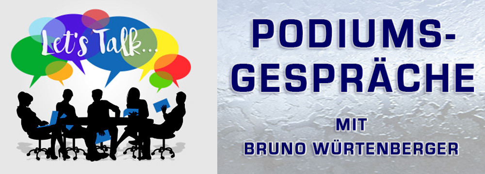 Podiumsdiskussion mit Bruno – Authentic Spirit & Science World Congress Logo