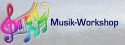 Musik-Workshop – Spiel von Herzen geil! Logo